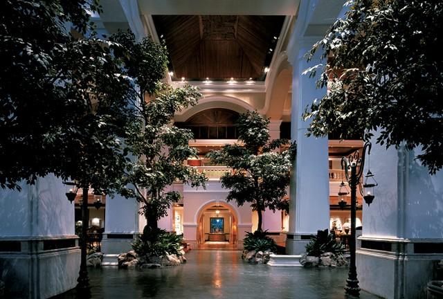 Grand Hyatt atrium lobby