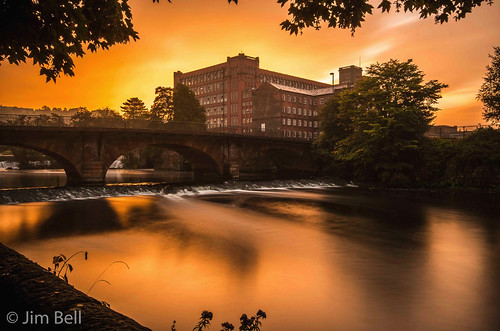 mill water sunrise long exposure bell pentax derbyshire sigma jim 1020 belper k5