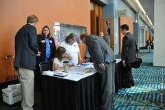 Registration Table at Equality Breakfast 2013 - 2