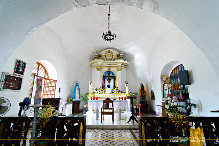 The Altar of Simbaan a Bassit at Vigan City