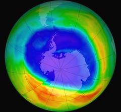 The South Pole's Ozone Hole