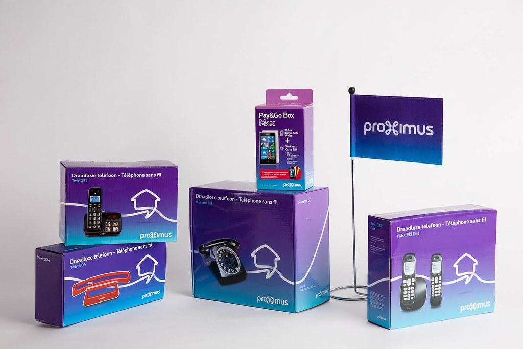 La nouvelle marque Proximus / Het nieuwe Proximus