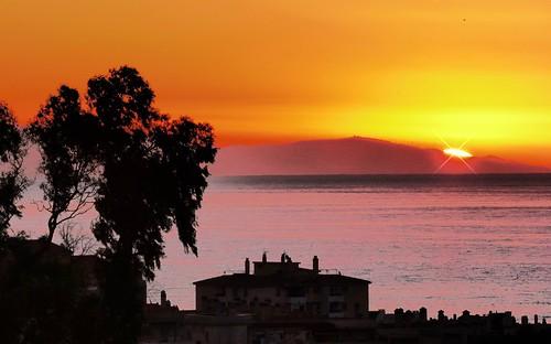 sunset vacation holiday sunrise dawn seaside spain costadelsol benalmadena