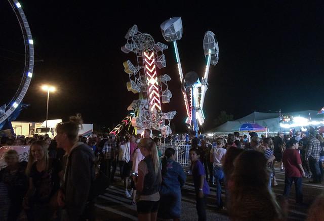 Carnival Rides at the Yavapai County Fair 1
