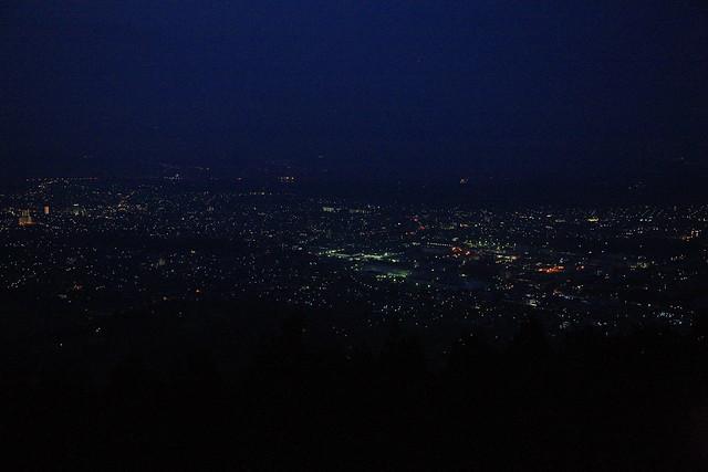 秦野市の夜景1