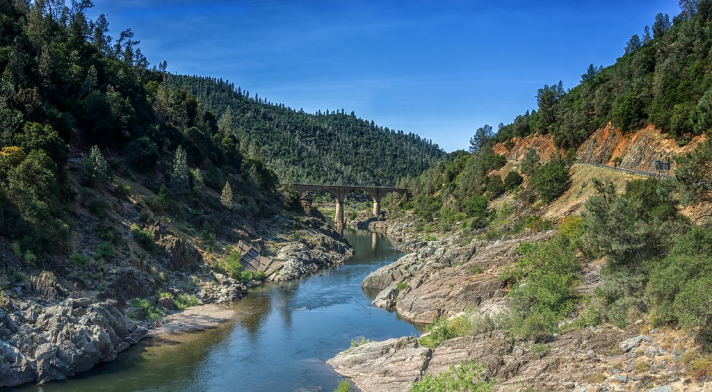 Foresthill Bridge - Placer County  California