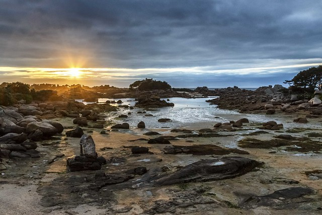 Ploumanach Sunset #explore