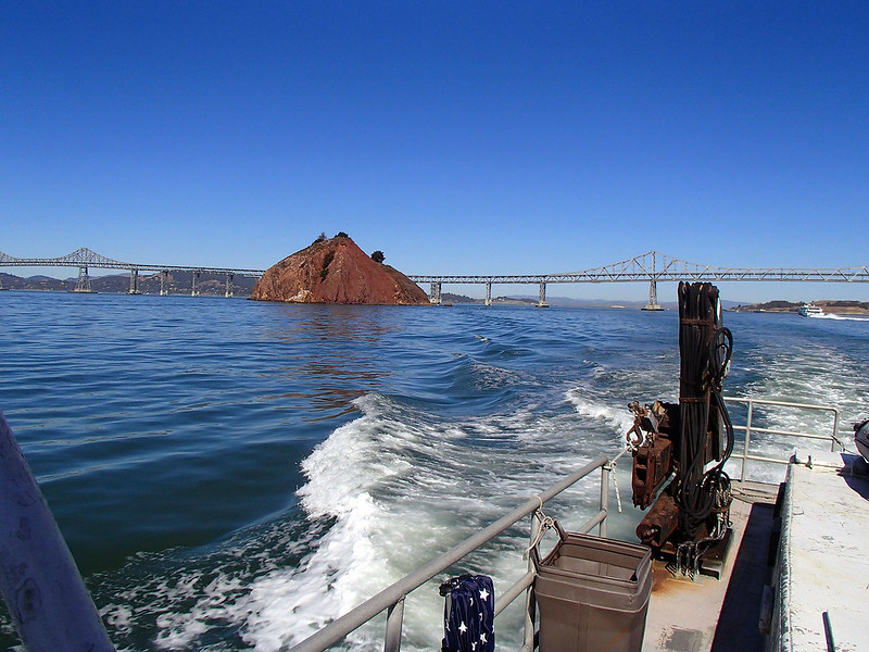 Red Rock off the Starboard Quarter