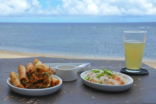 Dinamita and Lobster Kinilaw