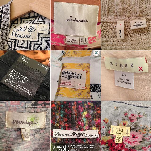 Etiquetas favoritas