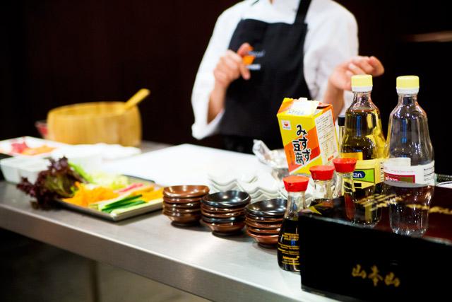 sushi making class at Sozai cookery school