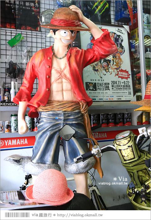 【台中動漫彩繪巷】除了海賊王!還有七龍珠、火影忍者...眾多卡通主題超吸睛!8