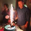 bolo de aniversário de Elvis com fogos de artifício  #bolo #cake #birthday #aniversario #fireworks #saopaulo