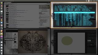 Ubuntu linux 4 desktops