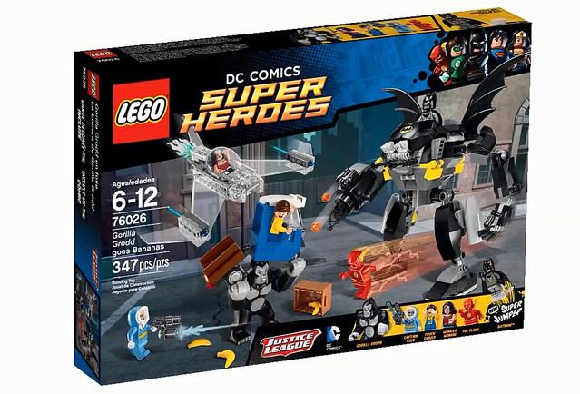 LEGO Super Heroes DC Comics 76026 - Gorilla Grodd Goes Bananas