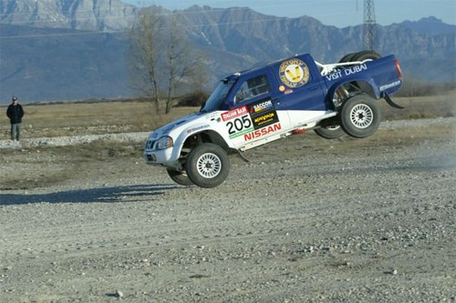 victory rally team , Driver Khalifa Almutaiwei WINNER OF THE FIA WORLD CUP FOR CROSS COUNTRY RALLIES 2004 - 2012