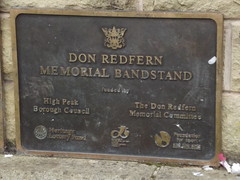 Photo of Don Redfern  bronze plaque