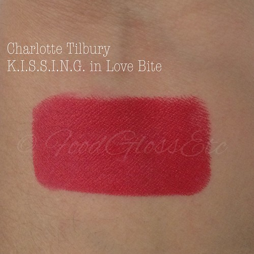 #CharlotteTilburyLoveBite