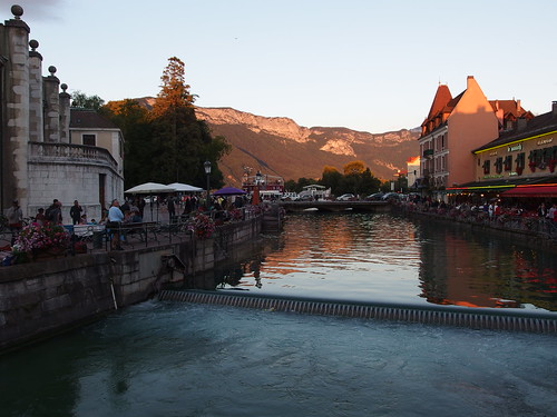 Sunset @ Old City of Annecy