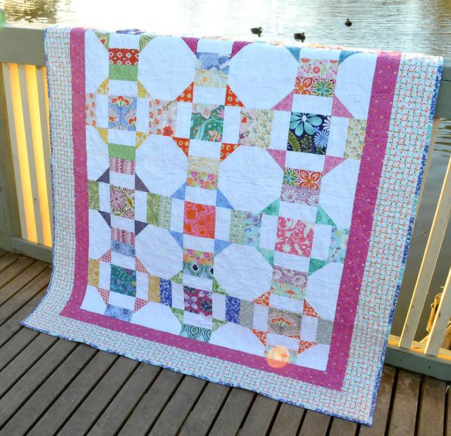 Charm Dash Quilt Pattern by Ms Midge