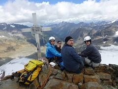 Auf dem Gipfel des östlichen Daunkogel