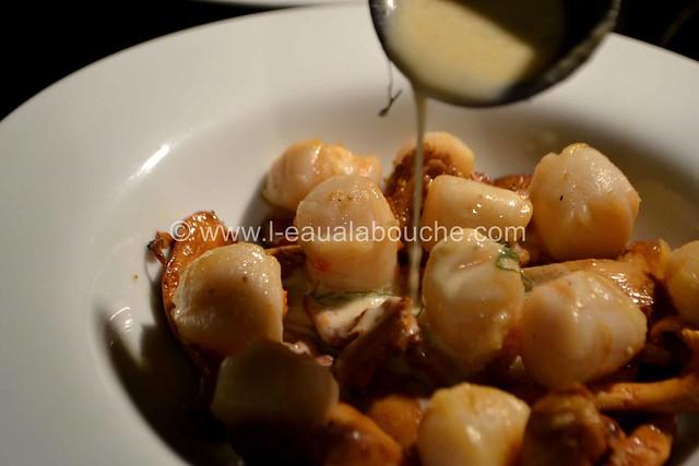 Cassolette de Noix de St.Jacques & de Chanterelles © Ana Luthi Tous droits réservés 035