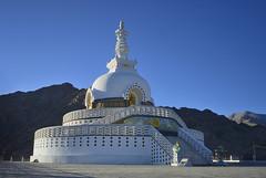 Shanti Stupa...