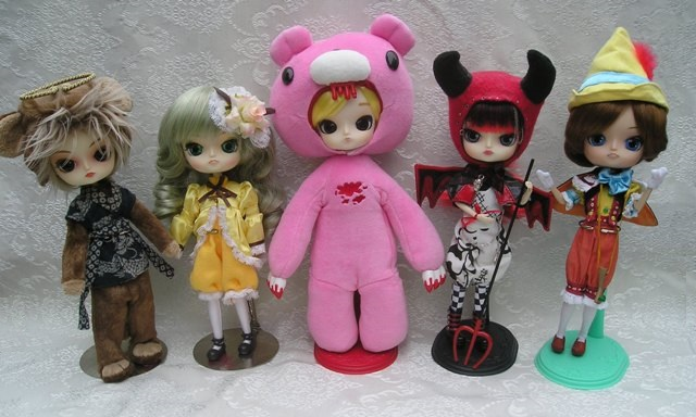 1 lucky member will win 1 of these dolls!