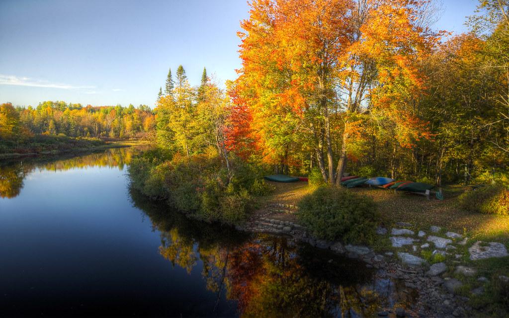 Kayaks in Autumn I
