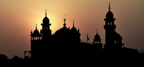 india silhouette sunrise temple golden sikh amritsar gurudwara goldentemple harmandirsahib