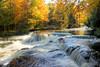 Rapids Above Bond Falls