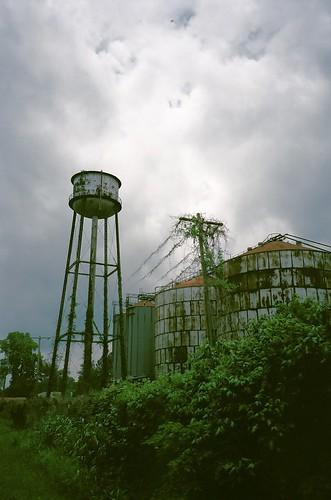 Old Mill with Kudzu
