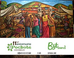 Blandas y Tlayudas Live at the #Pochimilco Market Saturday October 4 @bytband