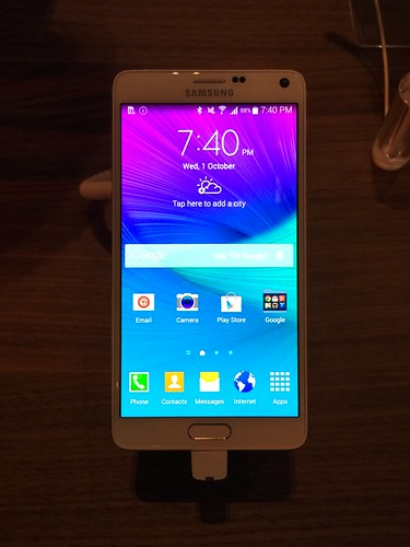 Samsung Galaxy Note 4 World Tour 2014 Singapore - Note 4