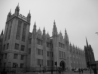 Cleaned up Marischal College