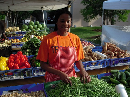 USDA's investments in local and regional food systems help provide farmers and ranchers with greater opportunities, consumers with more choices and bring jobs to rural and urban communities. USDA Photo.