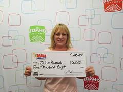 Julie Samide - $5,008 Mega Millions
