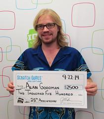 Alan Goodman - $2,500 25th Anniversary