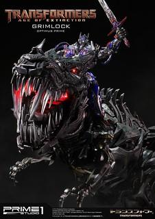 【追加大量新圖 & 販售資訊】Prime 1 Studio – 《變形金剛4:絕跡重生》龍騎士柯博文 & 鋼鎖