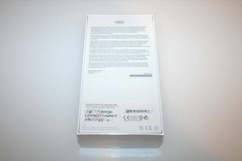 02 - iPhone 6 Plus - Verpackung hinten / Package back