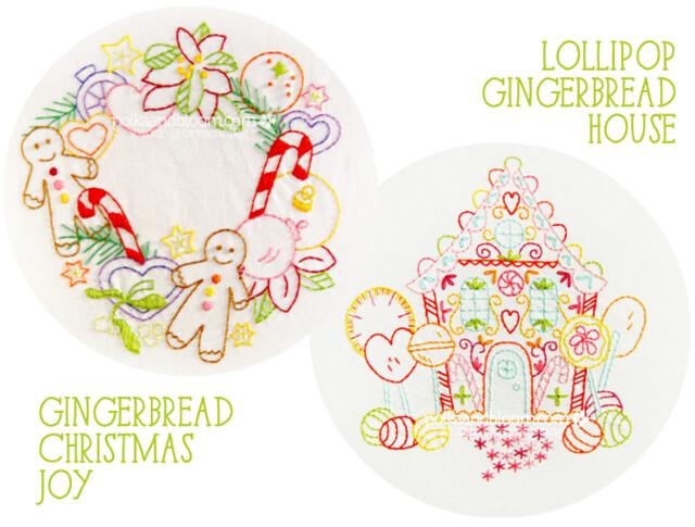 Lollipop Gingerbread House + Gingerbread Christmas Joy
