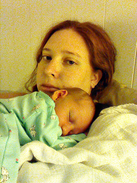Mommy and Elizabeth