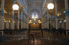 Interior of Beth El Synagogue, Kolkata