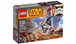 LEGO Star Wars 2015 : 75081 T-16 Skyhopper