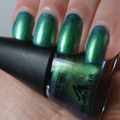 Manhattan 85 Green Nail Polish - Pretty Random
