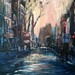 My new painting Charing Cross Road London by Captain Wakefield