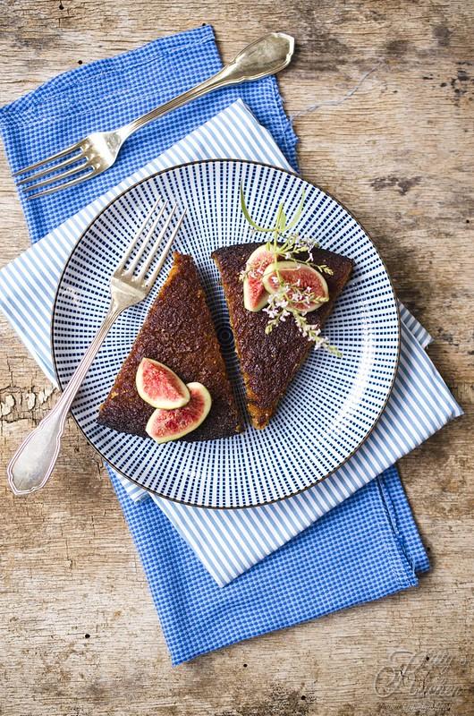 torta ai fichi freschi, senza glutine