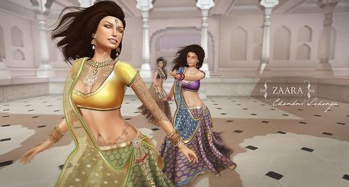 {Zaara} Chandni Lehenga