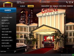 Omni Casino Lobby