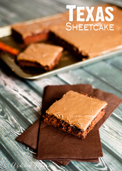 texas sheetcake is a classic recipe that everyone loves and is super easy and fast to make!